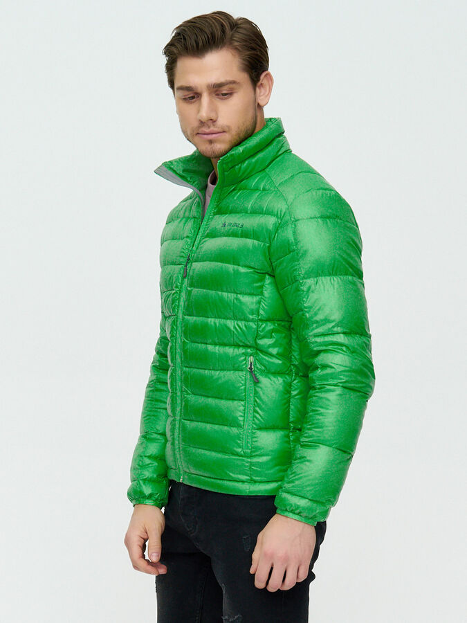 Пуховик еврозима Valianly зеленого цвета 92108Z