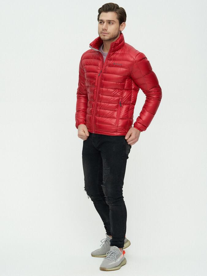 Пуховик еврозима Valianly красного цвета 92108Kr