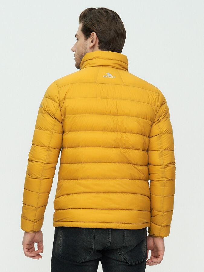 Пуховик еврозима Valianly желтого цвета 92117J