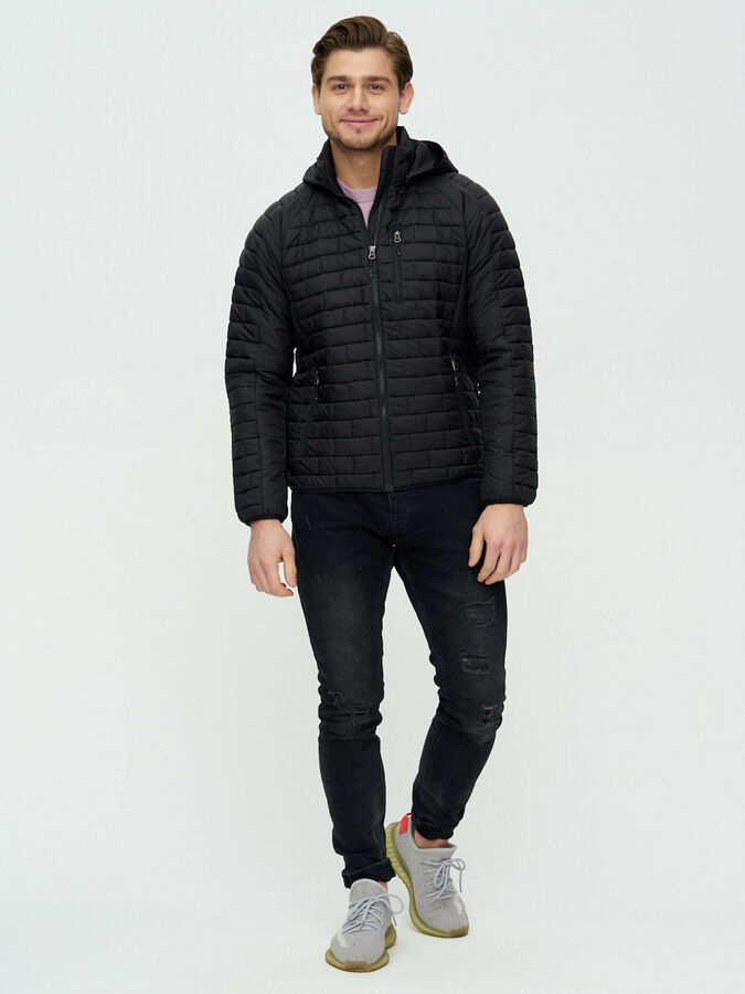 Куртка стеганная Valianly черного цвета