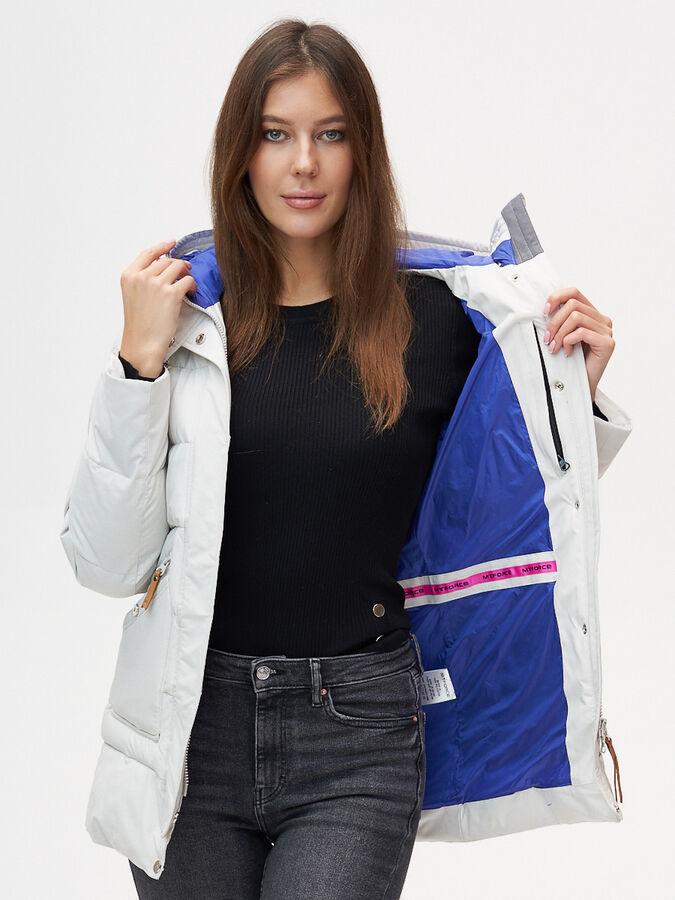 Куртка зимняя MTFORCE светло-серого цвета 2080SS
