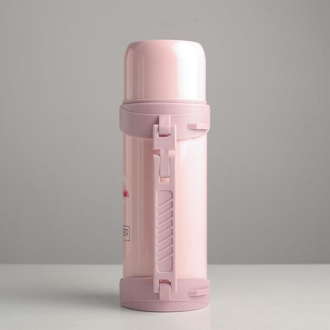 """Термос 1.2 л """"Forever"""", сохраняет тепло 18 ч, розовый"""