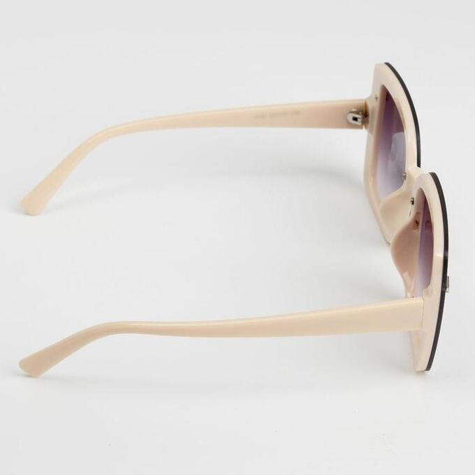 "Очки солнцезащитные ""Мастер К."", UV400, линза 5.7х6.5 см, ширина 14.5 см, дужка 14.5 см"