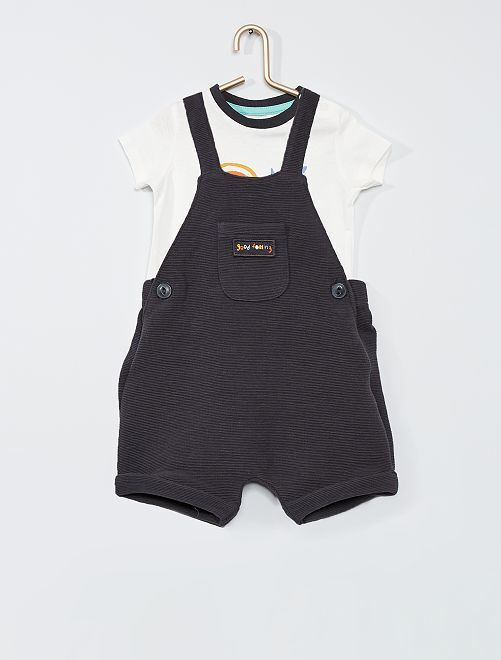 Комплект из комбинезона и футболки Eco-conception