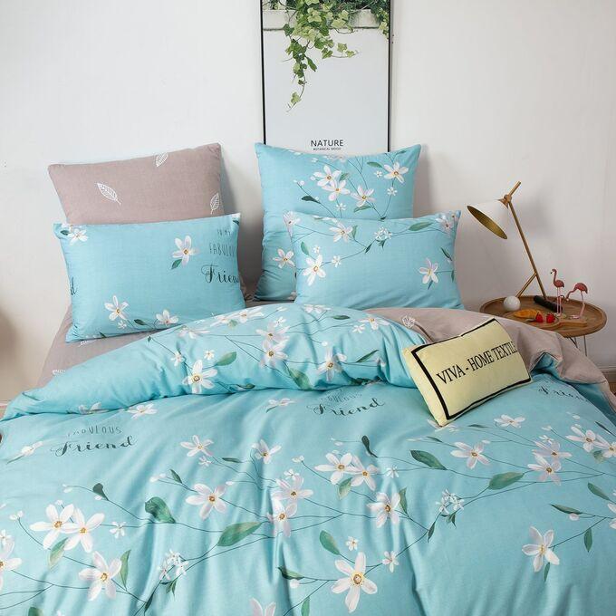 Комплект постельного белья Люкс-Сатин A225