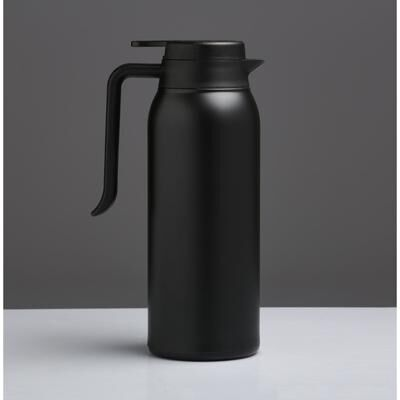 """Термос-кофейник """"Теним"""" 1.6 л, соxраняет тепло 8 ч, чёрный"""