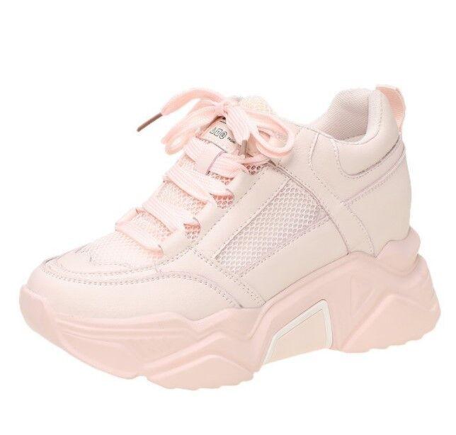 Женские кроссовки, цвет розовый