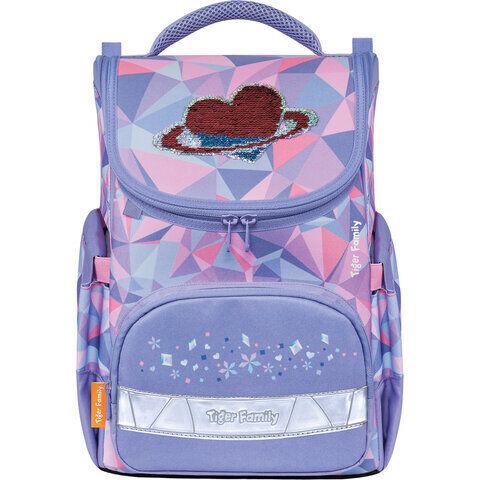 """Ранец TIGER FAMILY для начальной школы, Earnest, """"Icy Heart"""", 39х31х23 см, 270205"""