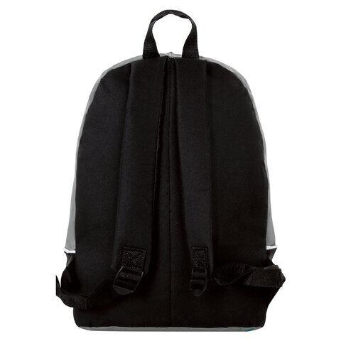 Рюкзак STAFF FLASH универсальный, черно-серый, 40х30х16 см, 270294