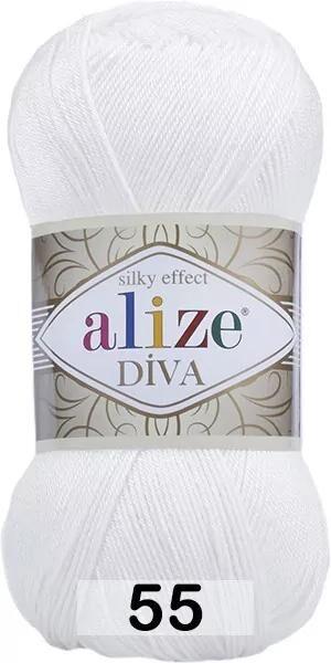 Пряжа Alize DIVA
