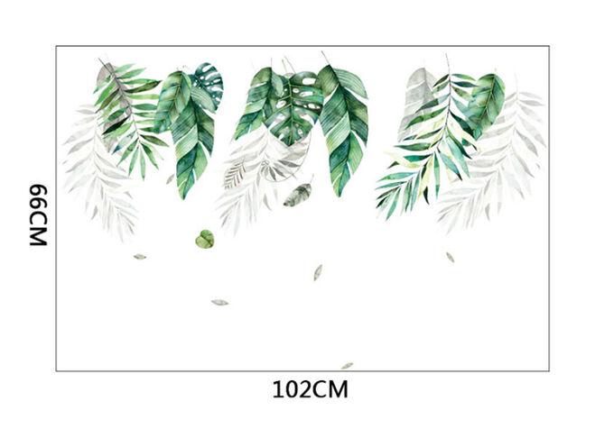 Наклейка многоразовая интерьерная «Тропики» 66*102 см (1534)