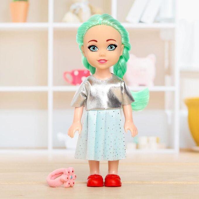 Куколка-сюрприз Lollipop doll с резинкой, цвета МИКС