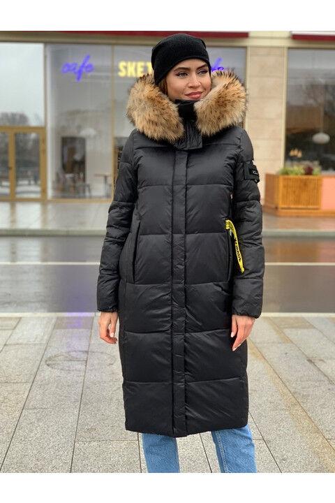 Женская зимняя куртка 1902 черная