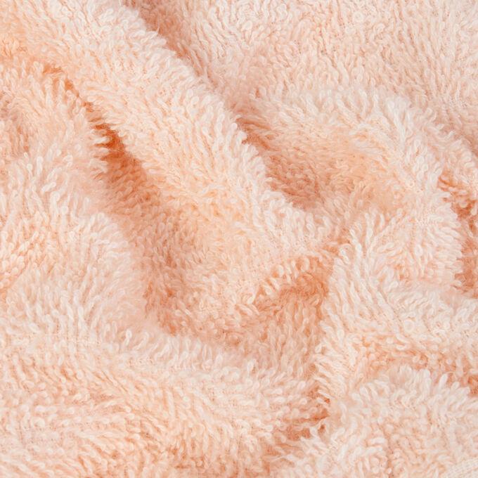 Набор банных полотенец Harmonika цвет персиковый (70х130 см - 4 шт).