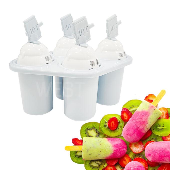 Форма для мороженого / 4 ячейки