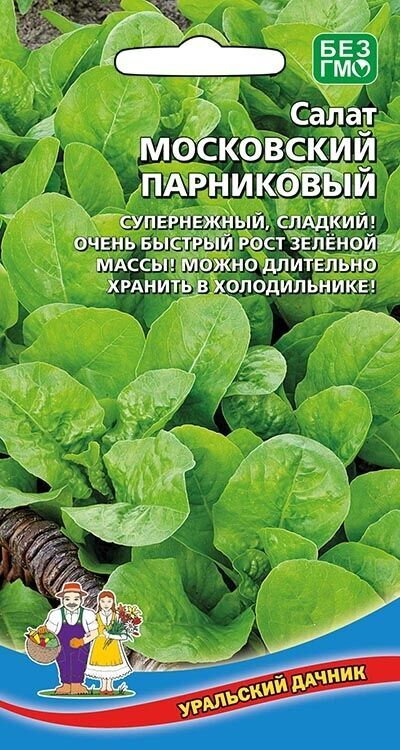 Салат Московский Парниковый (Марс) (ранний,листовой,120-200г,светло-зеленый)