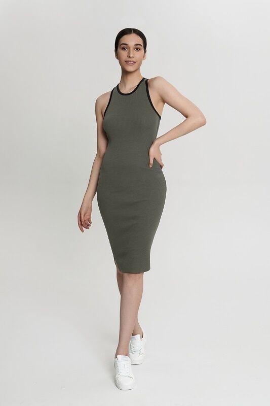 Платье:жен. МОДЕЛЬ 9. Хаки