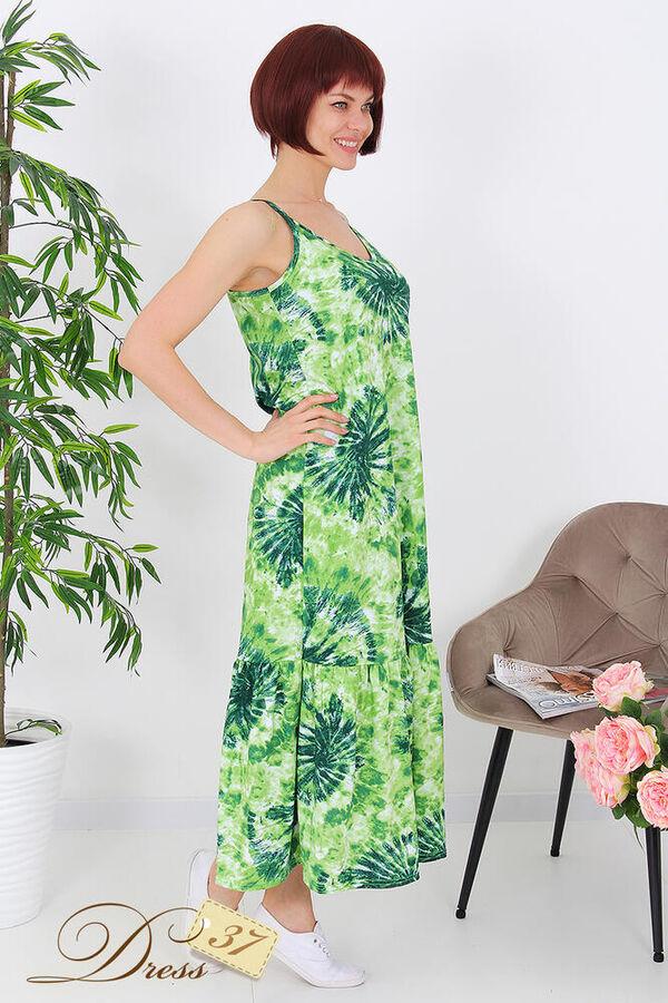 Сарафан «Саманта» зеленый