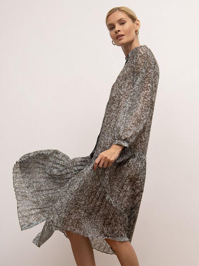 Шифоновое платье PL1169/lavyer
