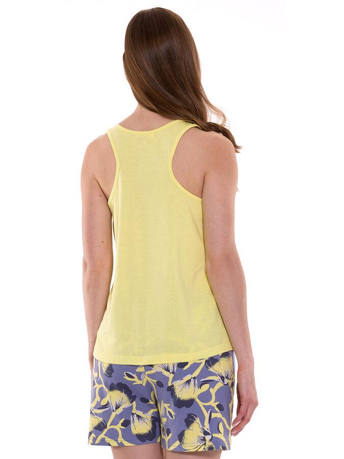 Комплект женский (футболка/шорты) Серый меланж, Серый