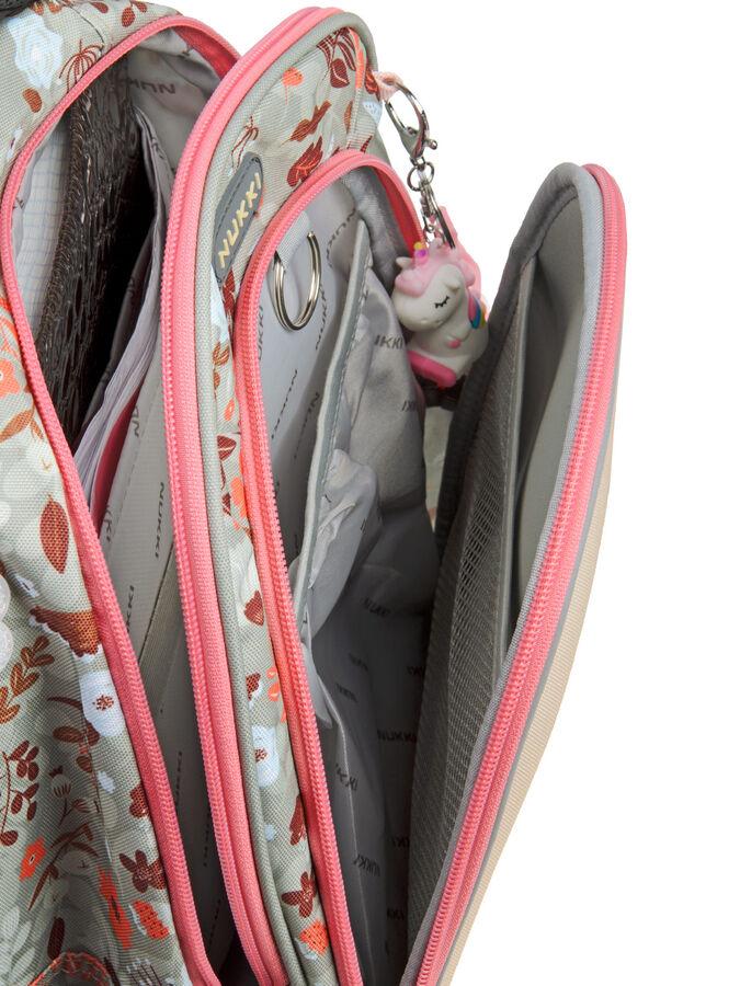 Школьный ранец NUK21-G4001-03 бежевый; коричневый девочки