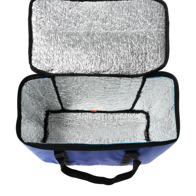 Термосумка Cartage Т-04, синяя, 17-18 литров, 35х21х24 см