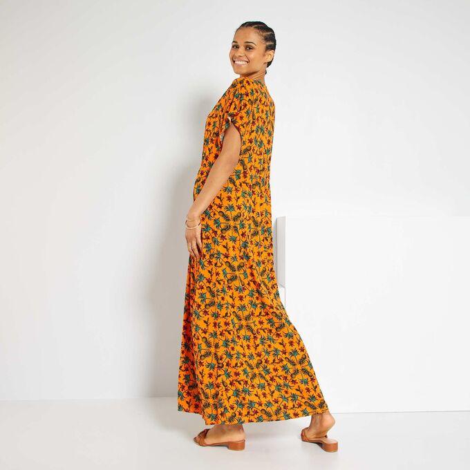 Пляжное платье - оранжевый