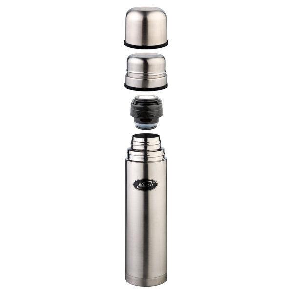 Термос Термос нерж 0,75л узкое горло 2 чашки Термос Biostal 0.75 л NB-750K2 сохраняет напитки горячими или холодными долгое время. Изготовлен из высококачественной нержавеющей стали. С двумя крышками-