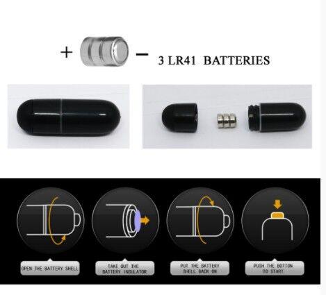 Насадка с вибрацией EUDORA (кольцо эрекционное) цвет чёрный