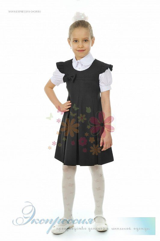Школьный сарафан для девочки 269-16