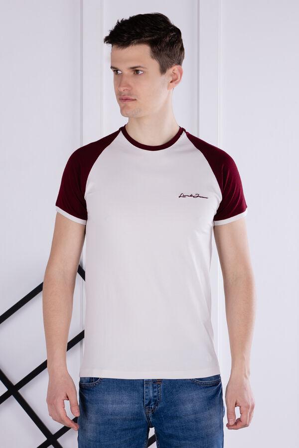 футболка              17.Y21-000050-BEJ-SIYAH-BORDO