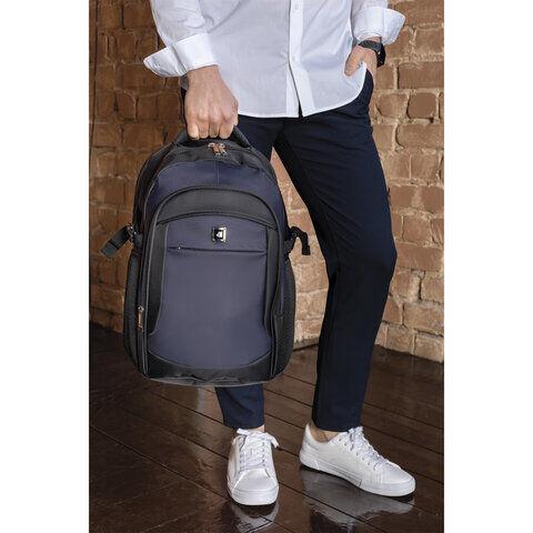 Рюкзак BRAUBERG URBAN универсальный, с отделением для ноутбука, крепление на чемодан, Practic, 48х20х32 см, 229874