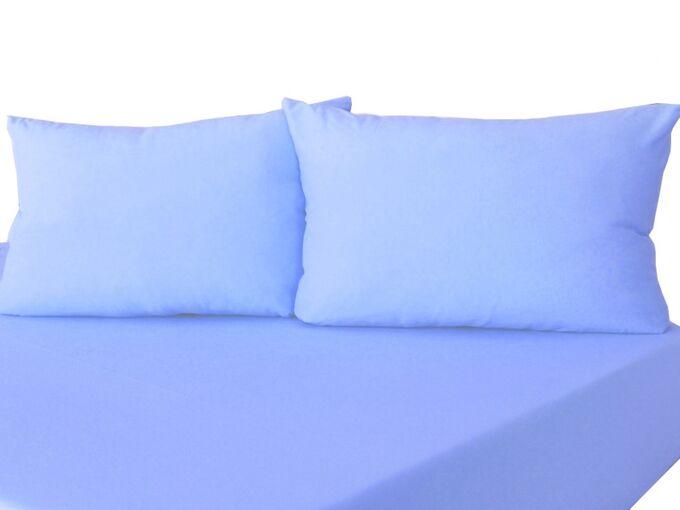 Комплект наволочек на молнии 70х70 Голубой