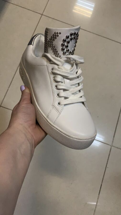 кеды МК дешевле в 2 раза чем в СП!!! Mindy Studded Leather Sneake во Владивостоке
