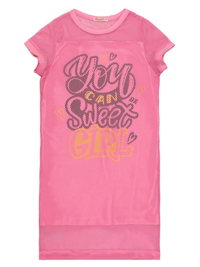 Платье для девочки BK1440P розовый