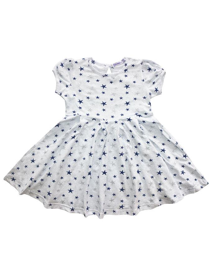 Платье для девочки OP372 серый