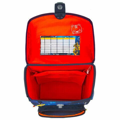 "Ранец TIGER FAMILY для начальной школы, Jolly, ""Bumblebee"", ЛИЦЕНЗИЯ, 36х31х19 см, 228973, TGJL-017A"