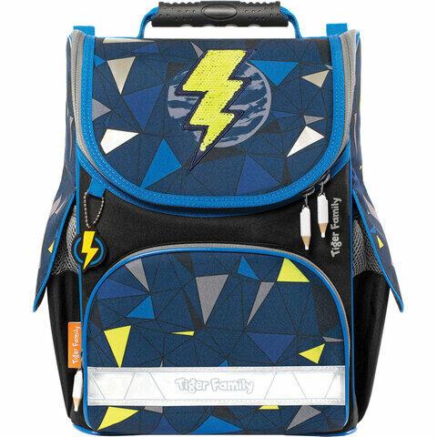 "Ранец TIGER FAMILY для начальной школы, Nature Quest, ""Lightning Power"", 35х31х19 см, 228876, TGNQ-047A"