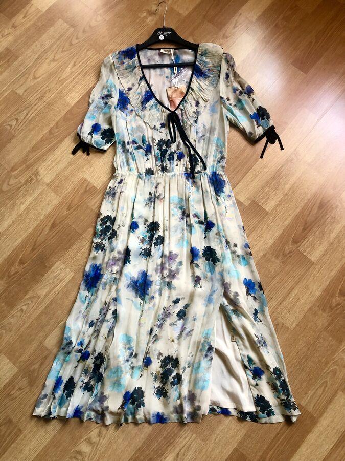 Платье премиум марки MOZART цвет голубой во Владивостоке