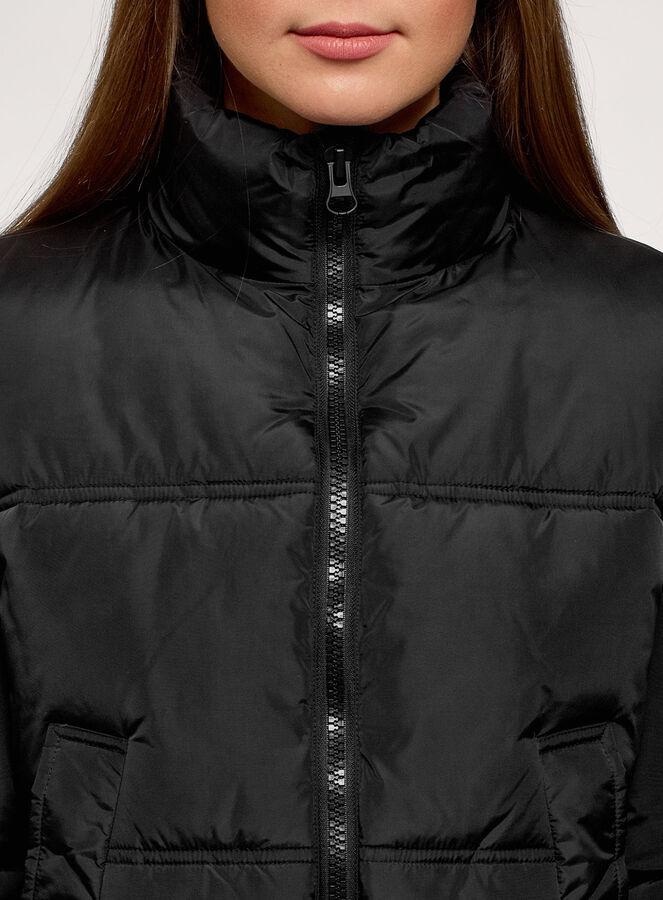 Куртка утепленная с высоким воротом