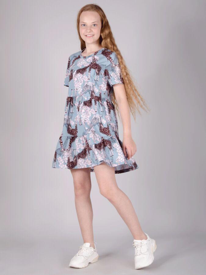 """Платье """"Жирафы"""""""