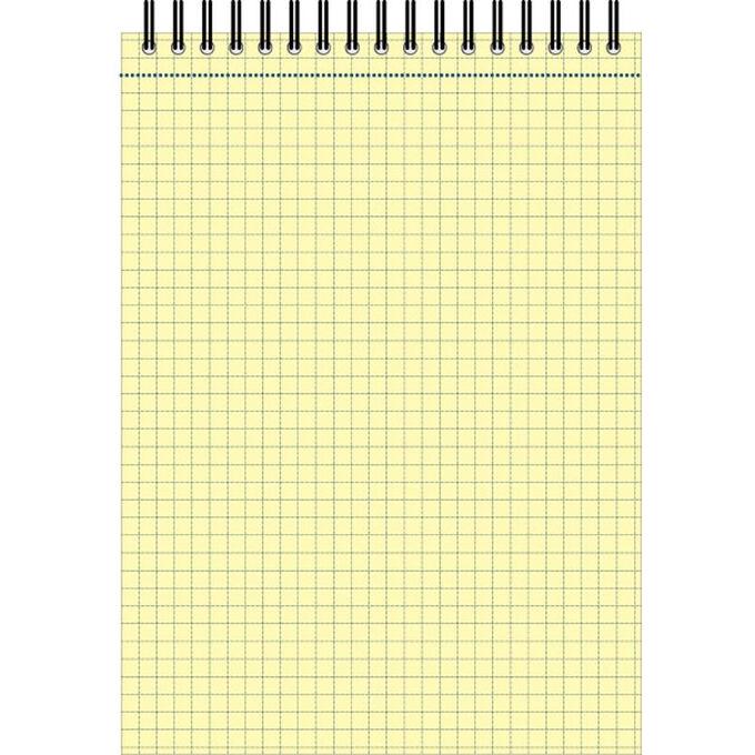 Блокнот 60л,кл,А5,Yellow Pad,спираль,тон.блок 70г/м