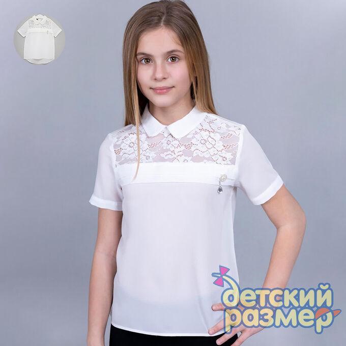 Блузка (шифон, брошь)         арт.28094 в Хабаровске