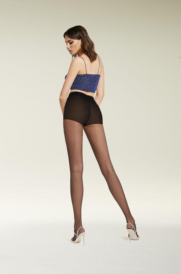 Высокоэластичные штанишки 100den утягивают бедра и живот,делают фигуру более стройной.