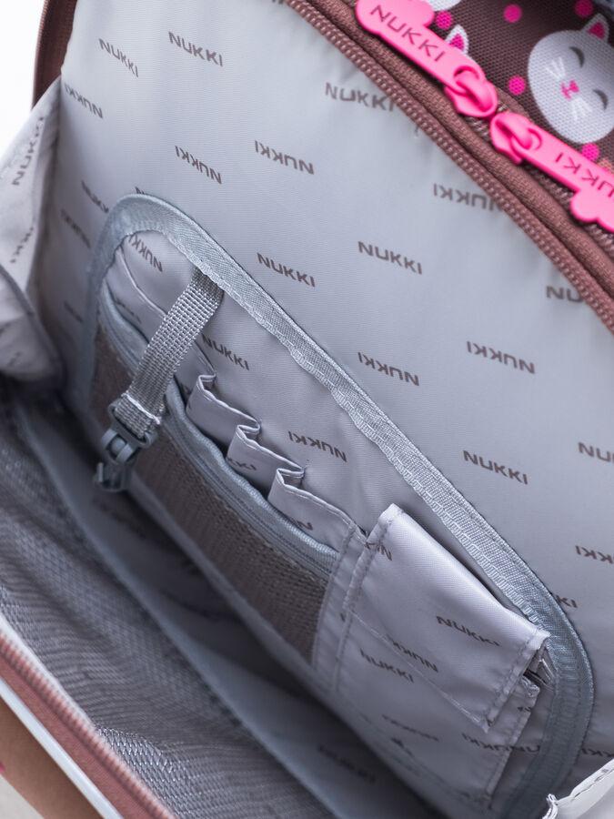 Школьный ранец NUK21-G6001-02 умбра; арбузный девочки
