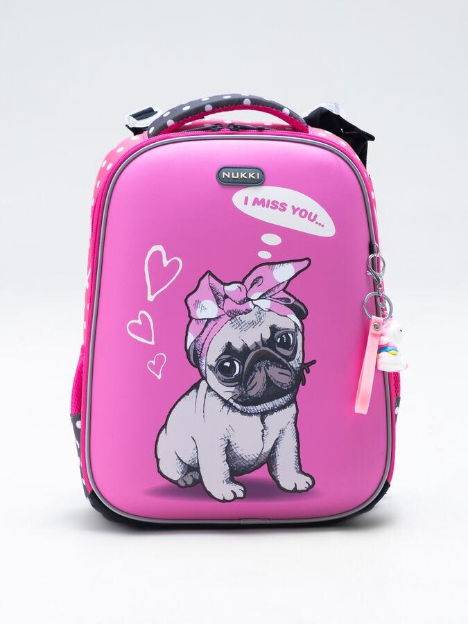 Школьный ранец NUK21-G6001-03 розовый девочки