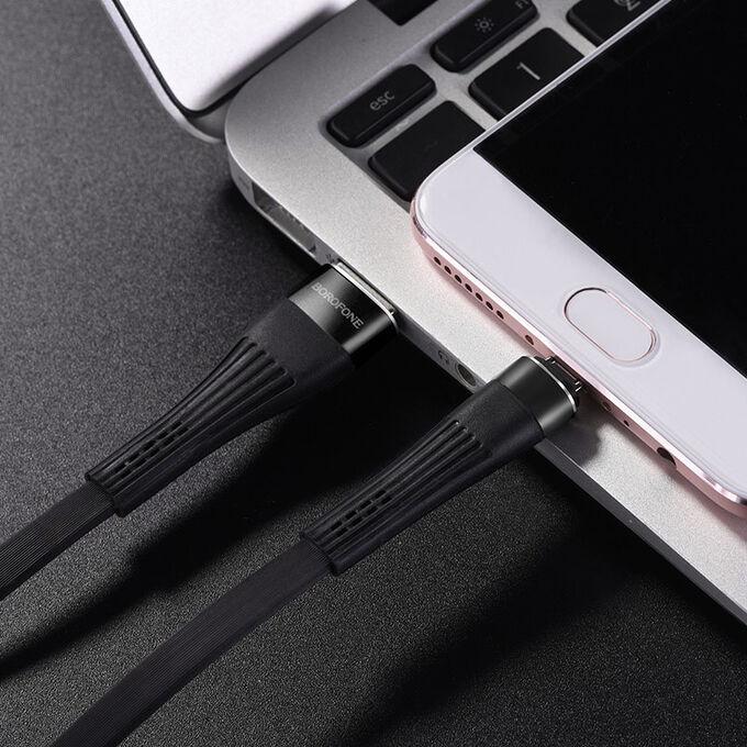 USB кабель Borofone BU4 Type-C / 2.4A