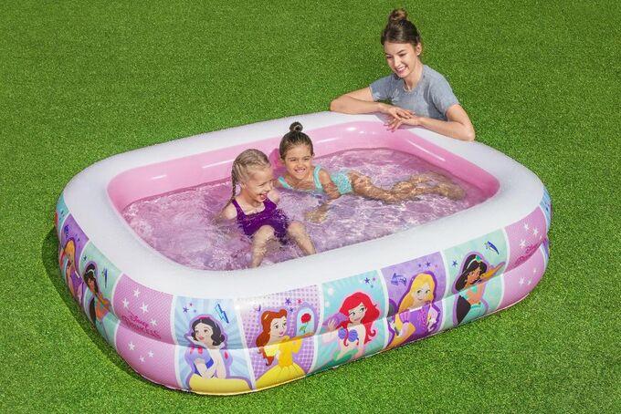 Детский надувной бассейн Bestway / 201 х 150 х 51 см, 450 л