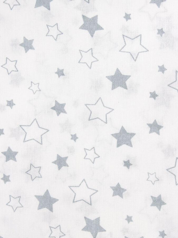 """Набор из 2х тканей компаньонов по 2 метра. """"Звездное небо голубое"""" 200х150"""