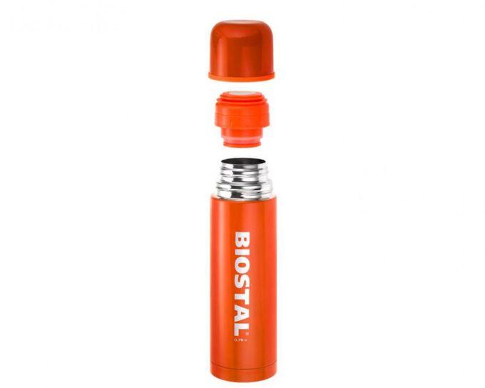 Термос Термос  0,5л  у/г с кноп. [BIOSTAL] оранжевый